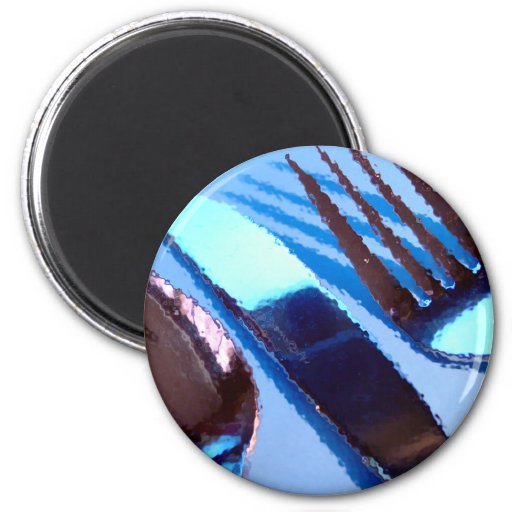 Silverware Refrigerator Magnet