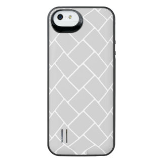Silvery Basket Weave iPhone 6 Plus Case