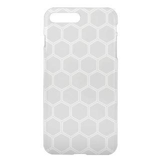 Silvery Hexagon 1 iPhone 7 Plus Case
