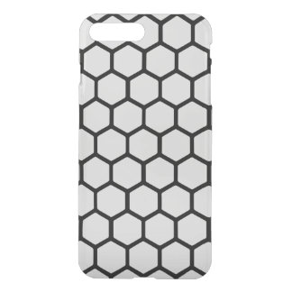 Silvery Hexagon 4 iPhone 7 Plus Case