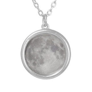 Silvery Moon necklace