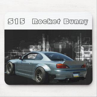 silvia s15 rocket bunny mouse pad