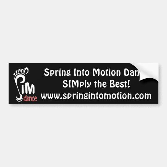 SIM Bumper Sticker