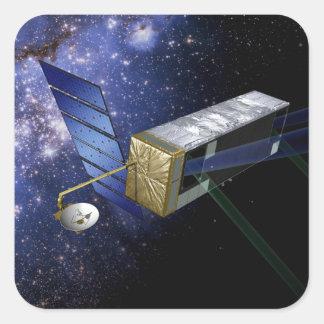 SIM PlanetQuest Square Sticker