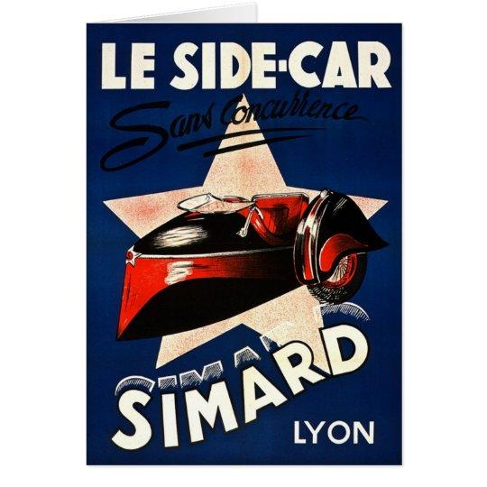 Simard - Le Side Car Card