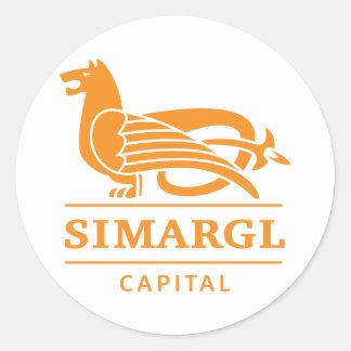 Simargl Capital Public Round Sticker