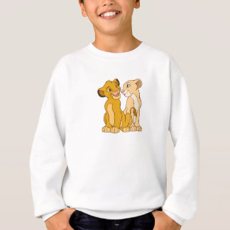 Simba and Nala Disney Sweatshirt