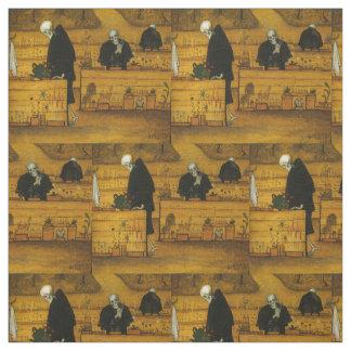 Simberg's Garden of Death art fabric