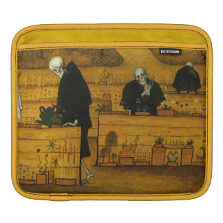 Simberg's Garden of Death iPad sleeve