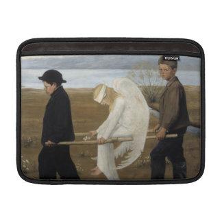 "Simberg's Wounded Angel 13"" MacBook sleeve"