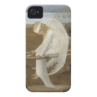 Simberg's Wounded Angel iPhone case