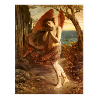 Simeon Solomon: Love in Autumn Postcard