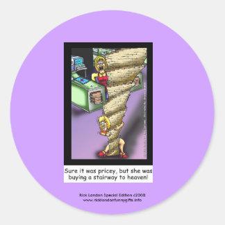 Simeon_StairwayHeaven, Rick London Special Edit... Classic Round Sticker