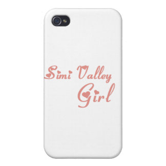Simi Valley Girl tee shirts iPhone 4/4S Cases