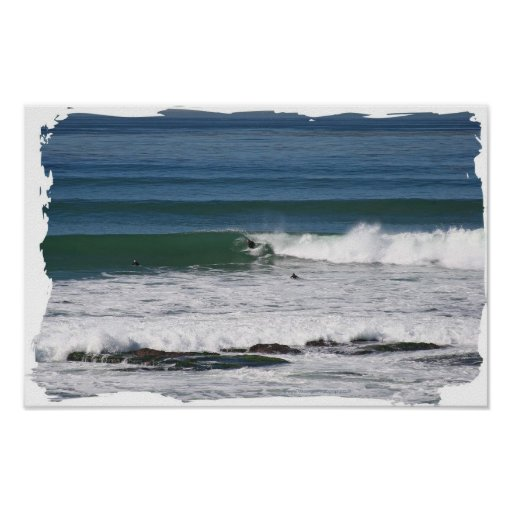 Simmons Challenge Surfing Poster