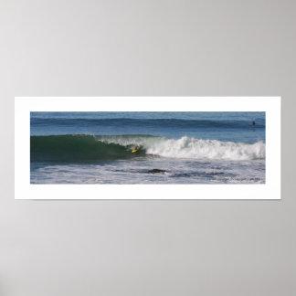 Simmons . Surfing . La Jolla Poster