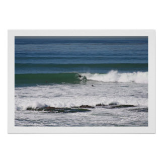 'Simmons' . surfing photo greeting card Poster