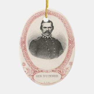 Simon Bolivar Buckner Christmas Ornament