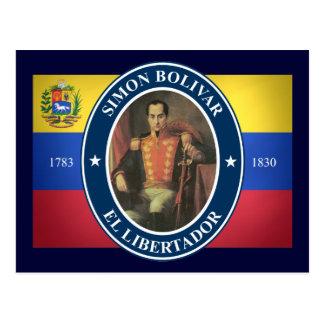 Simon Bolivar Postcard