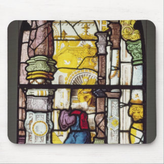 Simon in the Temple beholding the Holy Spirit Mouse Pad