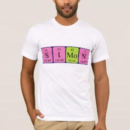 Simone periodic table name gifts on zazzle uk simon periodic table name shirt urtaz Image collections