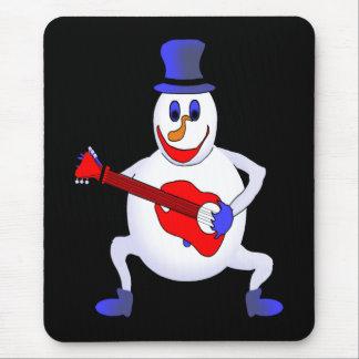 Simon The Snowman Mouse Pad