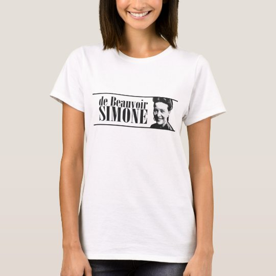 Simone de Beauvior Feminist T-shirt