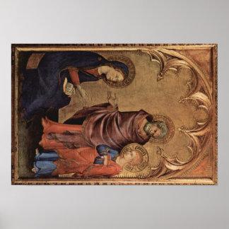 Simone Martini Art Poster