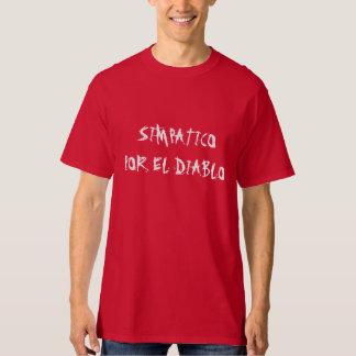"""""""Simpatico por el diablo"""" t-shirt"""
