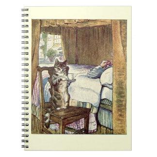 Simpkin the Cat Serves Tea - Beatrix Potter Note Book