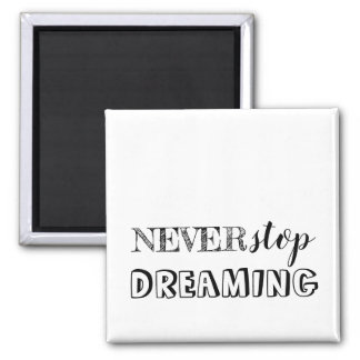 Simple 3 Word Quote Motivational Magnet