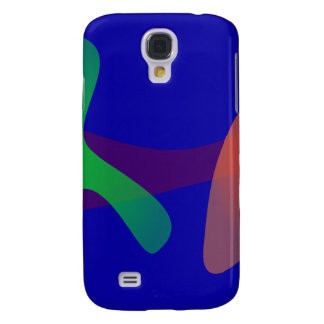 Simple Abstract Irregular Forms Galaxy S4 Case