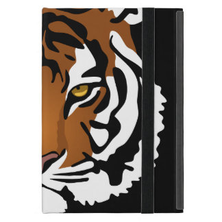 Simple Abstract Tiger Portrait iPad Mini Case