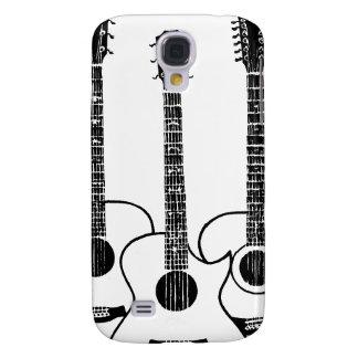 simple acoustic guitars galaxy s4 case