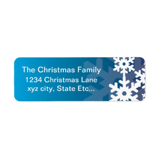 Simple and Classy Return Address Label