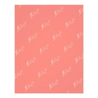 Simple and Elegant Coral Pink DIY Envelopes Liner 21.5 Cm X 28 Cm Flyer