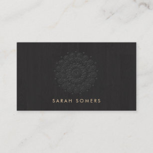 Motif business cards business card printing zazzle uk simple and elegant embossed motif look black business card reheart Image collections