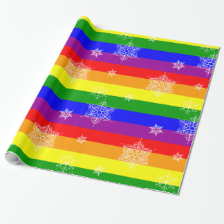 Simple and Elegant Gay Christmas Wrapping Paper