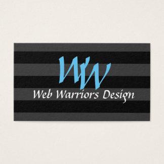 Simple and Elegant Web Developer Business Card