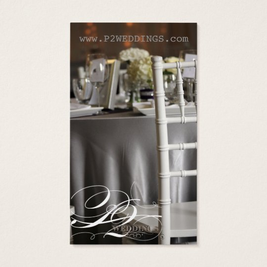 Simple and Elegant Wedding Design Business Cards