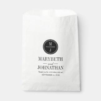 Simple and Elegant Wedding Favor Bag