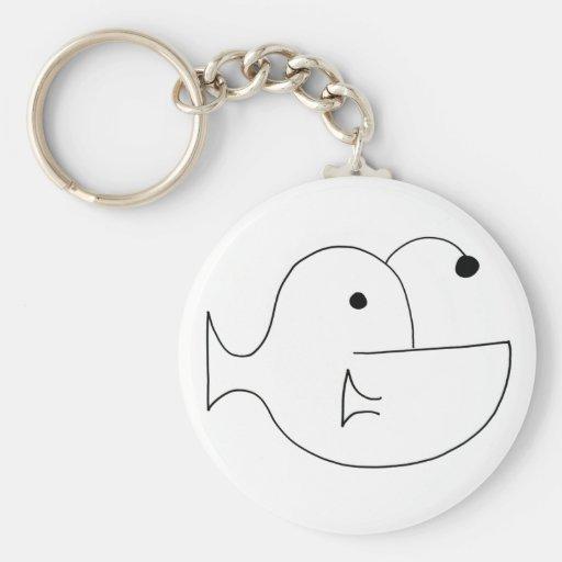 Simple Anglerfish Keychain
