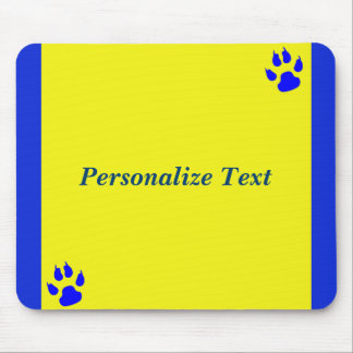 Simple animal lover customisable mouse pad