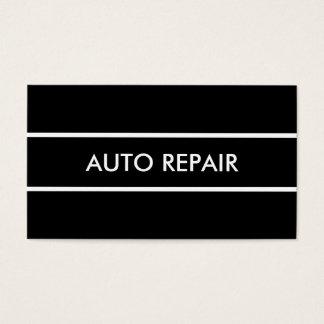 Simple Auto Repair Business Card