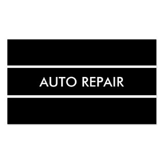 Simple Auto Repair Pack Of Standard Business Cards