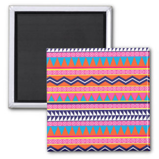 Simple Aztec Tribal Borders Refrigerator Magnet