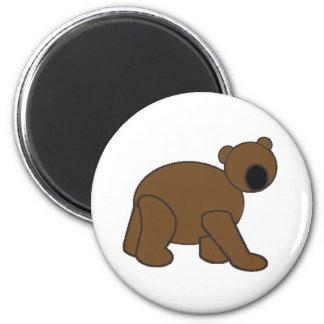 Simple Bear Magnet