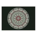 Simple Beauty Mandala - Artist Trading Card ACEO Pack Of Chubby Business Cards