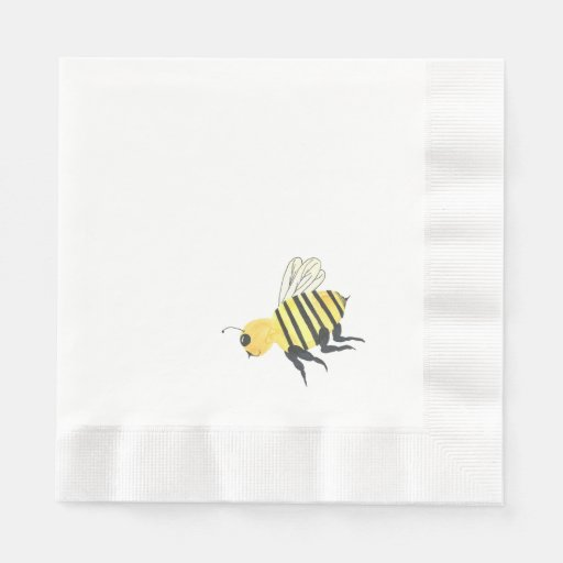 Simple Bee Napkins Disposable Napkin