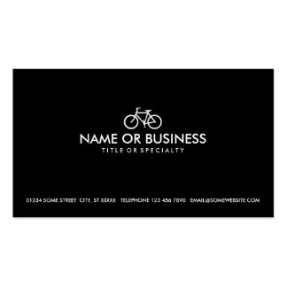 simple bicycle pack of standard business cards